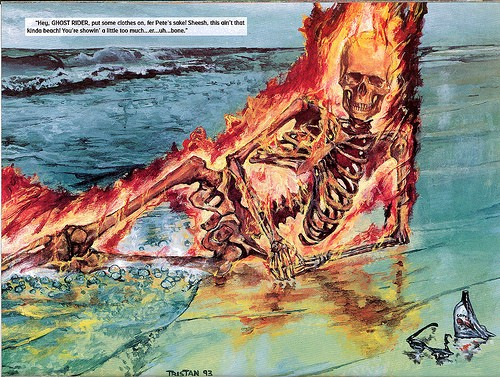 Marvel Swimsuit Special | Ghost Rider