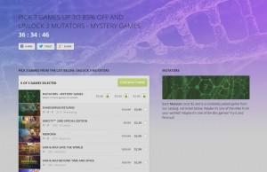Screencap of the GOG website.