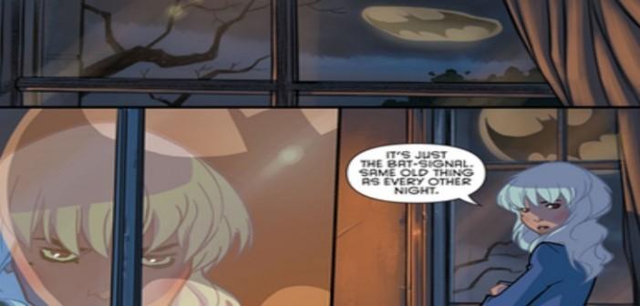 Gotham Academy #1 Karl Kerschl DC Comics 2014
