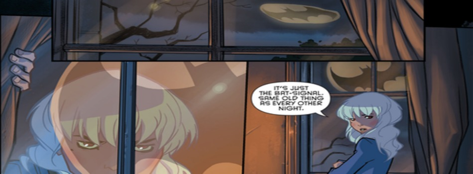School's In Session: The Gotham Academy Launch Party