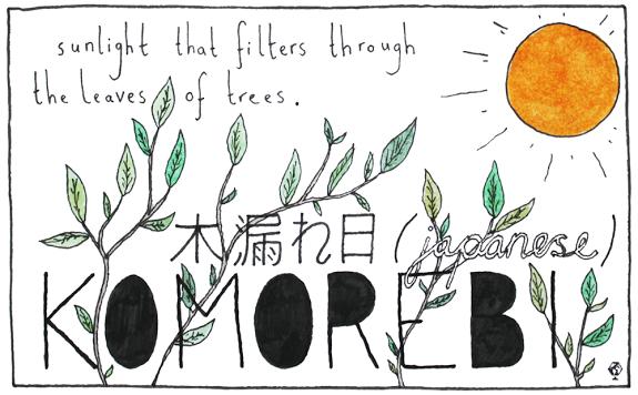 Komorebi, by Ella Frances Sanders