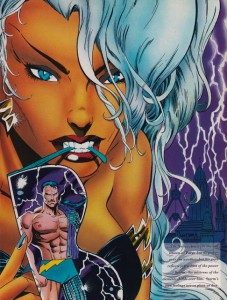 Marvel Swimsuit Special #3: Art by Jan Duursema, featuring Storm and Forge