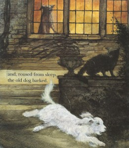 ruth brown, one stormy night, dutton children's books