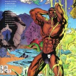 Marvel Swimsuit Special #3   Art by James Fry, featuring Black Panther