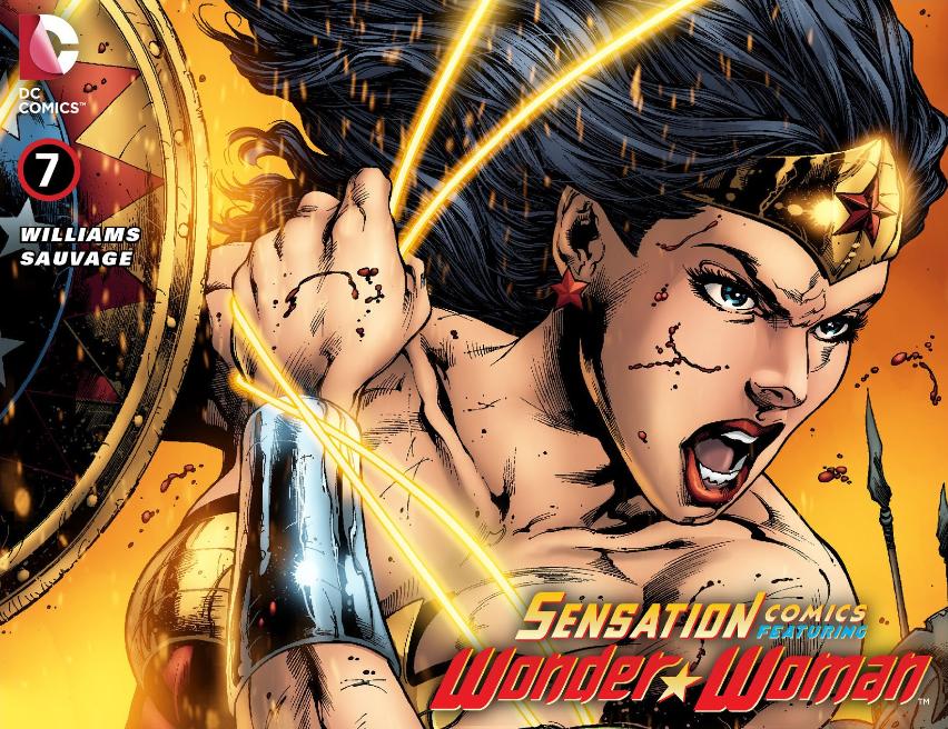 Sensation Comics Featuring Wonder Woman #7: Bullets & Bracelets