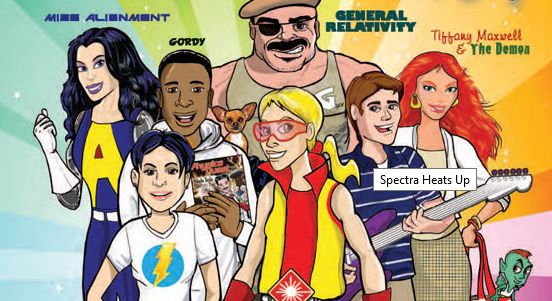 Kid Comics Go to Class: Physicists Teaching With Comic Books