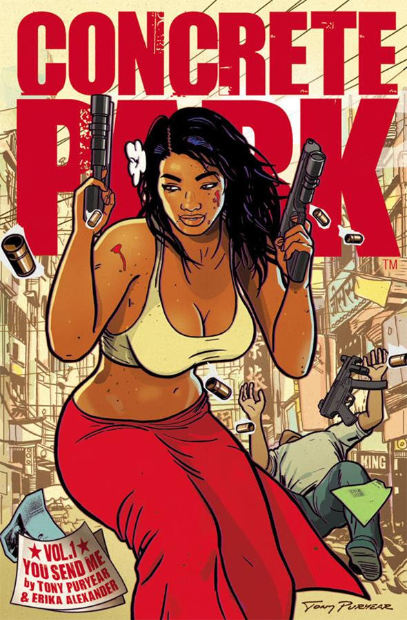 Concrete Park, You Send Me cover, Dark Horse Comics, Tony Puryear & Erika Henderson, October 2014