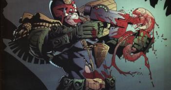 Banner: Judge Dredd vs Aliens