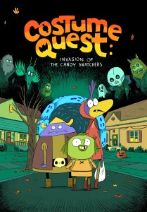 Costume Quest: Invasion of the Candy Snatchers  Zac Gorman  Oni Press