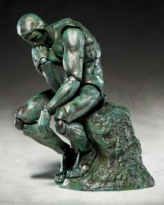 'The Table Museum' is a series of figma figures based on famous works of art that almost anyone will recognize! The first in the series is the classic sculpture by Auguste Rodin - The Thinker!