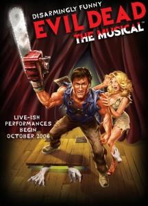 evil dead, poster, musical