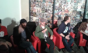 Kelly K, 2000AD artists and writers at Thought Bubble