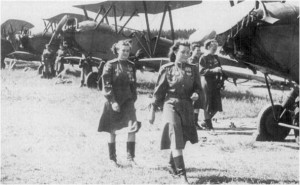 Women of the 588th Night Bomber Regiment of the Soviet Air Forces