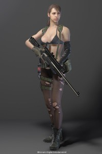 Quiet, metal Gear Solid 5: The Phantom Pain, Kojima