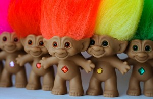 5 rainbow trolls