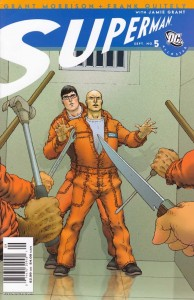 September 1, 2006. All Star Superman. Issue #5. The Gospel According to Lex Luthor. Grant Morrison. Frank Quitely. Jamie Grant.