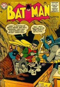 Batman #97. The Return of Bat-Hound. February 1, 1956. Sheldon Moldoff. Bill Finger. DC Comics.