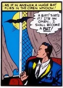 Batman. Bill Finger. Bob Kane.  Detective Comics #33. 1939. DC Comics.