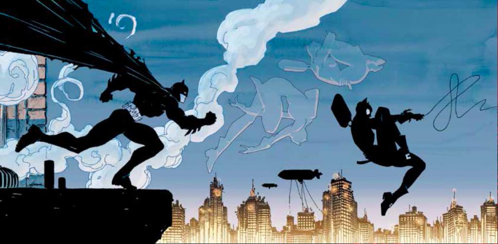 Oh Bats, do keep up. (by Jim Lee and Scott Williams [Batman Vol 1 #608])