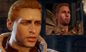 Alistair before and after