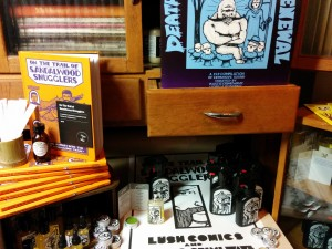 WWAC on the Town: Lush Launches Sandlewood Smugglers Graphic Novel