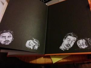 Lush + Gorilla Perfumes, Sandlewood Smugglers graphic novel launch party, London, November 2014, Frances Carbines