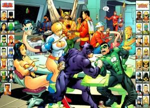JLA-JSA Virtue and Vice, David S. Goyer, Geoff Johns, Carlos Pacheco, Jesus Merino, Guy Major, DC Comics 2002