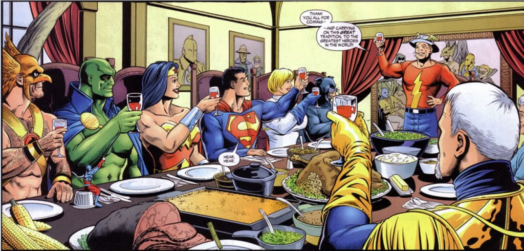 Cook Your Comics Thanksgiving Spectacular Part 1 Women