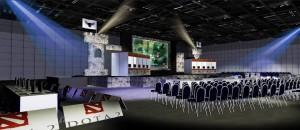 Ok Dota 2 Grand Final stage concept