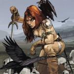 Red Sonja #1, Simone & Geovani, cover by Fiona Staples, Dynamite, 2013