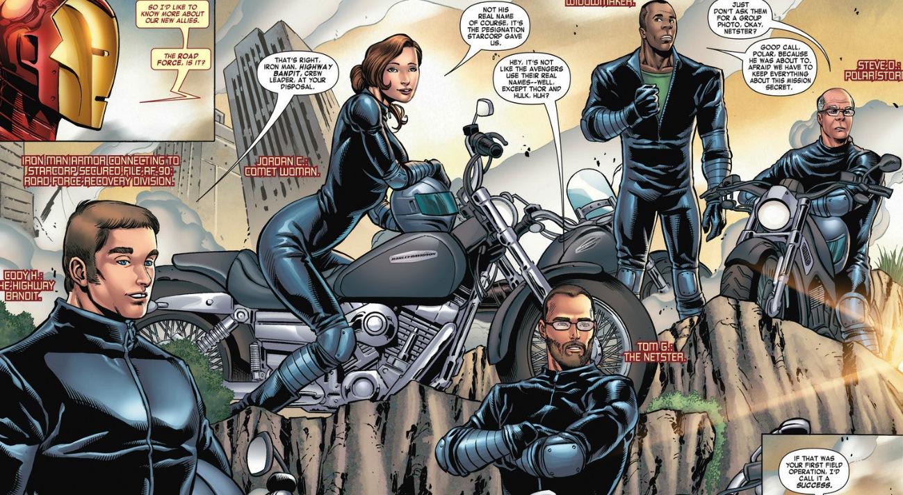 Marvel Road Force, 2014, Avengers