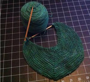 Sarah, Life Geek, knitting