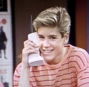 Saved by the Bell, Zach Morris' fancy cellular phone