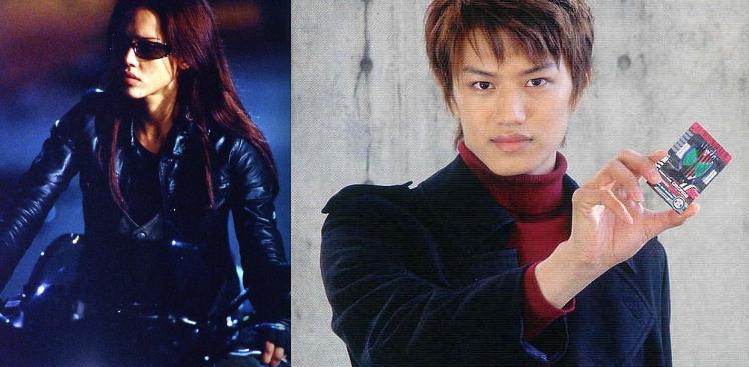 Dark Angel, Jessica Alba, James Cameron, Fox, 2000, Kamen Rider Decade, Masahiro Inoue, Toei, 2009