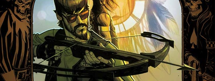 SHERWOOD, TX #2 (of 5) Written By: Shane Berryhill Artist: Daniel Hillyard Colors: Charlie Kirchoff Covers A and B: Andrew Robinson