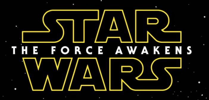 Star Wars The Force Awakens logo. LucasFilm, Disney, 2014.