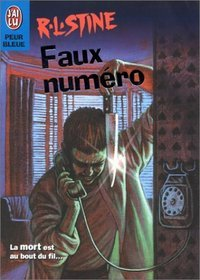 The Wrong Number, RL Stine, 2001 French version