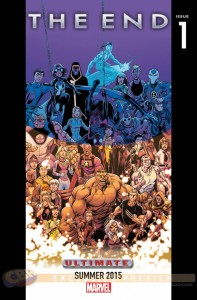 Ultimate Universe Teaser. A: Mark Bagely. Image from Newsarama. Marvel Comics, 2015