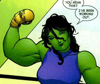 She-Hulk, WWAC Warrior Banner
