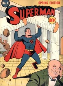 Superman #4. Jerry Siegel. Joe Shuster. Comics.