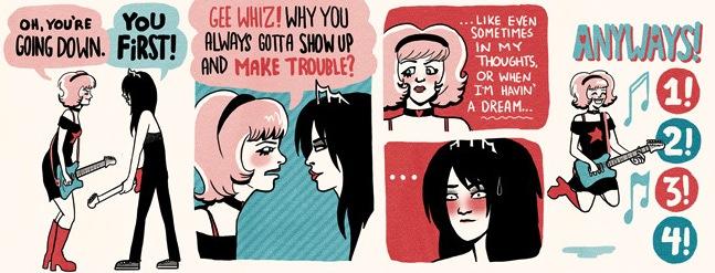 Band vs Band webcomic