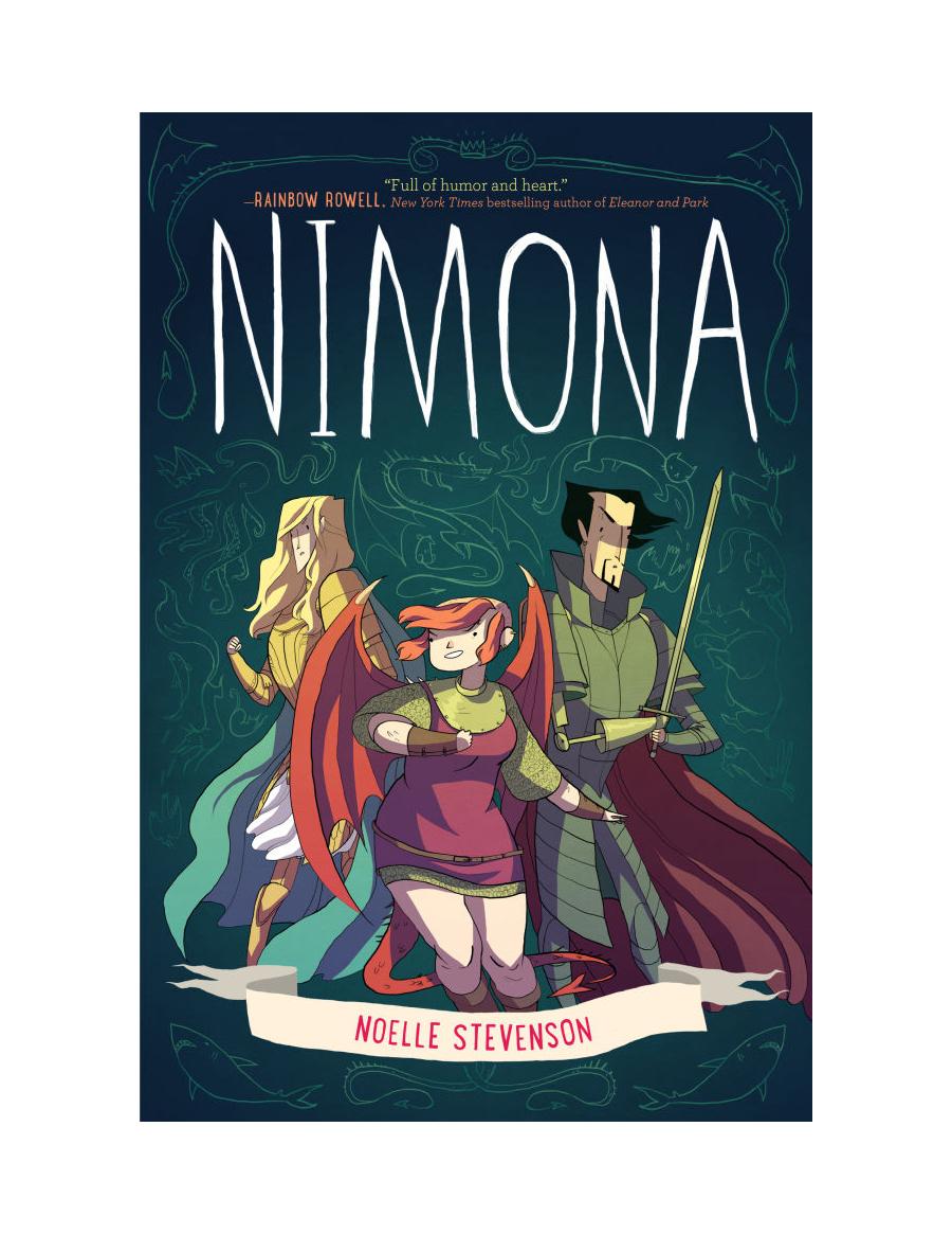 Nimona, Noelle Stevenson, 2014, Harper Collins 2015