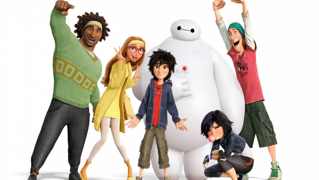 Big Hero 6 (2014)  Written by Don Hall & Jordan Roberts Directed by Don Hall & Chris Williams Starring Scott Adsit, Ryan Potter, T.J. Miller Walt Disney Studios/Marvel Entertainment PG, 108 minutes