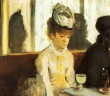 In a Cafe (Absinthe), Degas