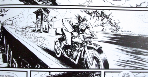 Clayton McCormack, Cafe Racer, Sean Murphy, Katana Collins, Essential Sequential, 2014