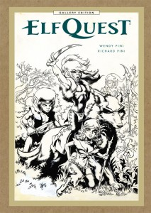 elfquest, wendy pini, cover, dark horse comics