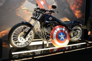 Captain America WInter Soldier Harley-Davidson, Marvel, 2014