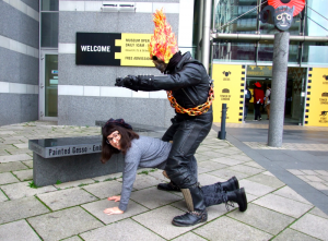 Thought Bubble Cosplay, 2014, Ghostrider