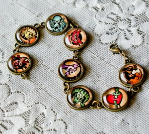 Bioshock vigors bracelet by DianaJewelryDesign on Etsy