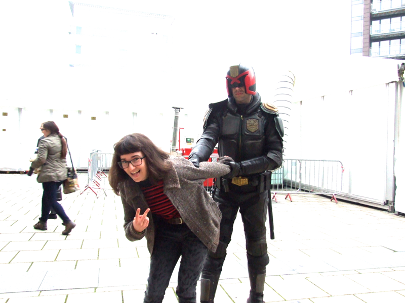 Thought Bubble Cosplay, 2014, Judge Dredd